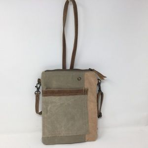 Passport Bag of Recycled Canvas!